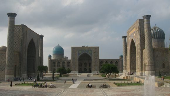 Travel to Samarkand